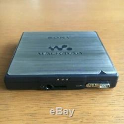 Sony MZ-E900 MDLP MiniDisc Player Dark silver Sounds Great From Japan #634