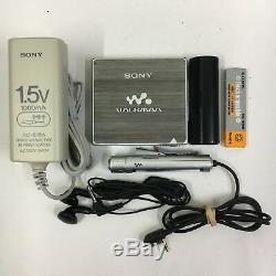 Sony MZ-E900 MDLP MiniDisc Player and Accessory Sounds Great FROM JAPAN #600
