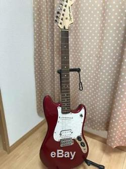 Squier CYCLONE Red Electric Guitar used Excellent+++ condition from japan sound