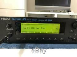 Synthesizer Roland Roland JD -990 sound source module from JAPAN