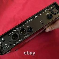 TC HELICON Play Acousitc Vocal Vocal Guitar Sound Effector Rare USED from japan