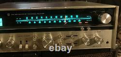 Technics SA-6000x 4/2 Channel Quadraphonic Stereo Receiver Sound From Fm Works