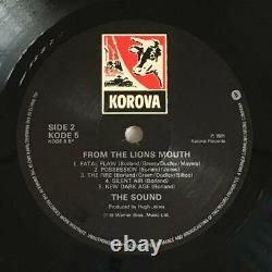 The Sound From Lions Mouth Uk Original Korova Kode'81 Neo Psychedelic