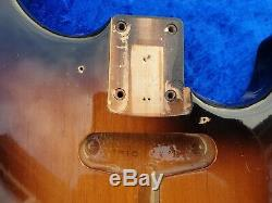 Tokai ST60 Goldstar sound Guitar Body Made in Japan from 1984 Golden Sunburst