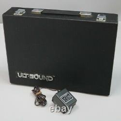 ULT-SOUND DS-4 MODULE Drum Synthesizer with AC Adapter Used Good from Japan Rare