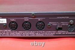 USED Roland SC-55 mk Sound Canvas mk2 Module Synth from Japan U1104 200925