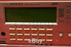 USED YAMAHA MU-2000 EX Sound Module Tone Generator from Japan U782 191213