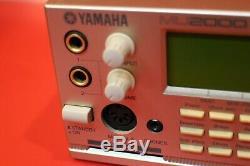 USED YAMAHA MU-2000 Sound Module Tone Generator from Japan U596 190708