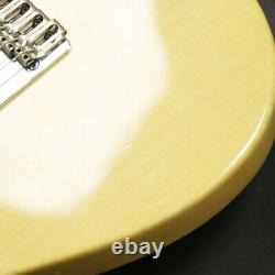 Used Crews Maniac Sound Custom TL Type Natural Electric Guitar From Japan