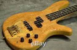 Used Crews Maniac Sound GTN-4 MP DEEP MOD Electric Bass Guitar From Japan