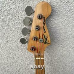 Used GRECO PB450 SPACY SOUND Electric Bass Guitar Vintage RARE From Japan