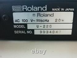Used Roland U-220 RS-PCM Sound Module MIJ Made in Japan From Japan