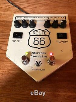 VISUAL SOUND ROUTE66 AMERICANOVERDRIVE from japan 5215