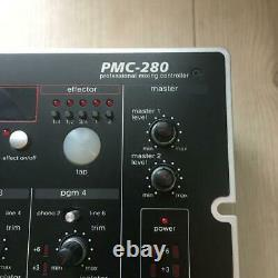 Vestax 4-Channel Audio DJ Mixer PMC-280 Sound output confirmed Used from Japan
