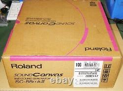 With Full Box SET! Roland SOUND CANVAS SC-55MK2 SC-55MKII From Japan