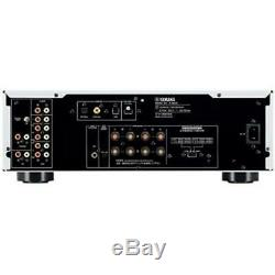 YAMAHA A-S801S Integrated Stereo Amplifier Silver Natural Sound NEW From Japan