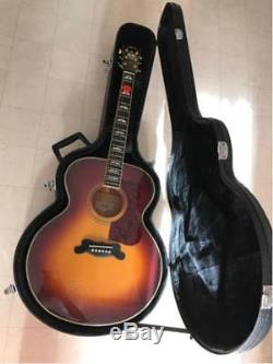 YAMAHA CJ-22 Acoustic Guitar with case used Excellent condition from japan sound