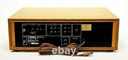 YAMAHA CT-7000 FM Stereo Tuner Vintage Retro Antique Natural Sound From Japan