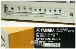 YAMAHA CT-7000 Natural Sound FM Stereo Tuner Vintage Retro Antique From Japan