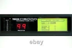 YAMAHA D5000 Professional Digital Delay Sound Processor Audio RARE from JAPAN