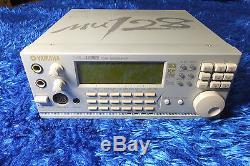 YAMAHA MU-128 XG Sound Module/MU128, Motif, VL, WX, PLG, A2b from Japan 20160330