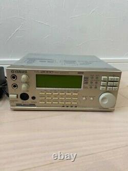 YAMAHA MU2000 Tone Generator Sound Module with Adapter From Japan