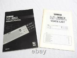 YAMAHA MU80 Sound Module Synthesizer Courier Express Free Shipping from JAPAN