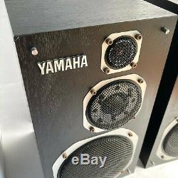 YAMAHA NS-1000MM Theater Sound Speaker System Vintage Speaker From Japan Good