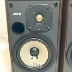 YAMAHA NS-2 Theater Sound Speaker System Vintage Speaker From Japan Used Good
