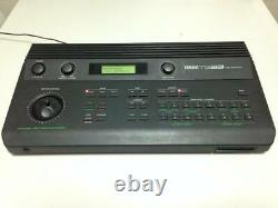 YAMAHA TG33 Tone Generator Sound Module with AC Adapter Working USED from JAPAN