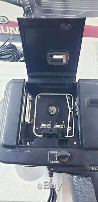 YASHICA SOUND 20XL SUPER 8 Movie Camera Zoom 9.5-19mm F/1.1 Lens From JAPAN #878