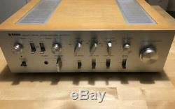 Yamaha A-1000II Natural Sound Stereo vintage Amplifier From Japan