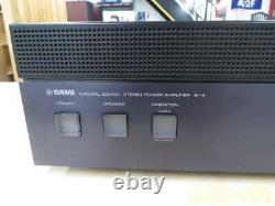 Yamaha B-4 Stereo Power Amplifier Transistor Natural Sound Working from Japan