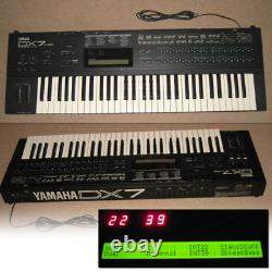 Yamaha DX7-FD Digital Synthesizer with Sound Data CD W39.3 from Japan
