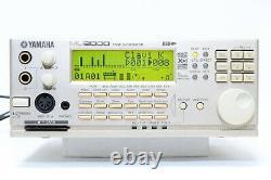 Yamaha MU-2000 EX TONE GENERATOR XG Sound Module New Internal Battery From JP