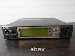 Yamaha MU50 XG Sound Module with Power Supply from japan #0078 Rank B