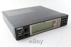 Yamaha MU80 Tone Generator XG Sound Module Synthesizer From Japan Excellent+++