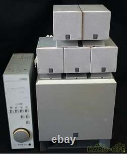 Yamaha TSS-15 Natural sound Home theatre system From Japan